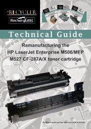 TG - HP LaserJet Enterprise M506:MFP M527 CF-287A:X