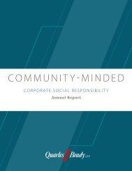 COMMUNITY-MINDED