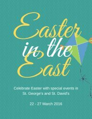 Easter in the East