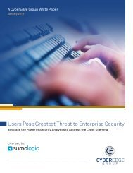 Users Pose Greatest Threat to Enterprise Security