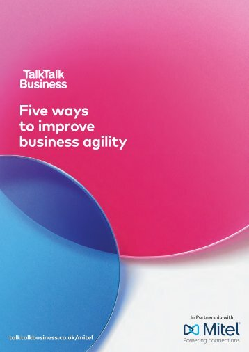 Five ways to improve business agility