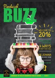 Buzz - Issue 7 - Term 1 - 2016