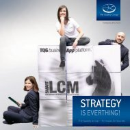 Strategy is everything! The Quality Group - Formulas of Success