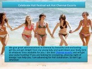 Celebrate Holi and Enjoy Dating with Hot Ayesha