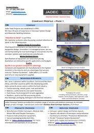 SPI-4.76.1_Jadec Conveyor Systems Profile ... - company profile