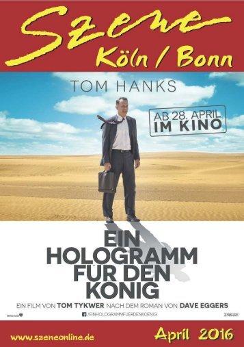 Szene Köln-Bonn, Ausgabe 04.2016