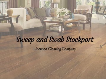 Sweep and Swab Stockport - 0161 823 0310