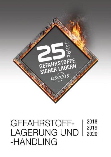asecos – Gefahrstofflagerung und -handling 2017/2018