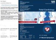 Flyer Fetal Cardiology July 2016
