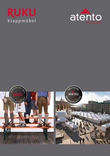 RUKU Klappmöbel Katalog - 2016 (Version 1)