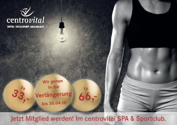 SPA & Sportclub_Angebot 2016-04
