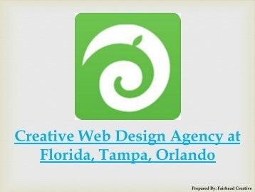 Creative Web Design Agency at Florida, Tampa, Orlando