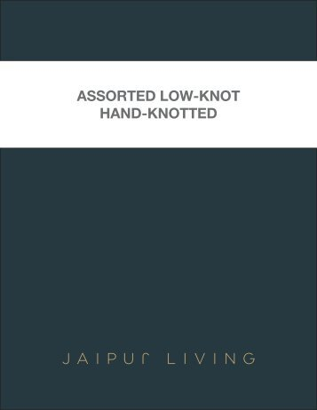 Assorted Low-Knot Hand-Knotted