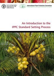 An Introduction to the IPPC Standard Setting Process
