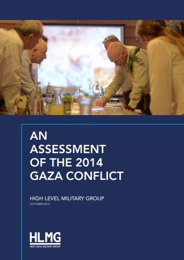 ASSESSMENT OF THE 2014 GAZA CONFLICT