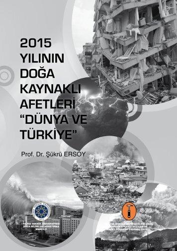 """AFETLERİ """"DÜNYA VE TÜRKİYE"""""""