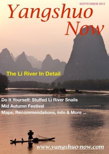 Yangshuo Now Magazine, September 2012