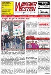 Bremer Westen - Ausgabe für April