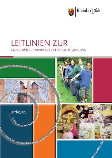Leitlinien Dorfentwicklung.indd - Kinderrechte Rheinland-Pfalz