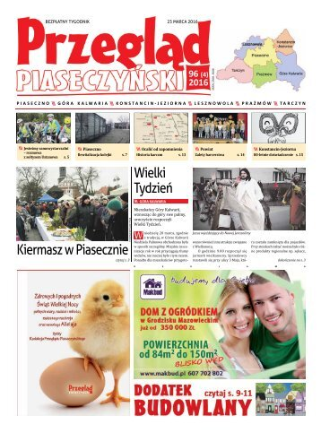 Przegląd Piaseczyński, Wydanie 96
