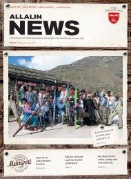 Allalin News Nr. 6/2016 - SAAS-FEE | SAAS-GRUND | SAAS-ALMAGELL |SAAS-BALEN