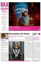 Berner Kulturagenda 2016 N°11/12
