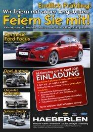 Der neue Ford Focus - Autohaus Haeberlen