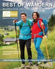 Best of Wandern Magazin