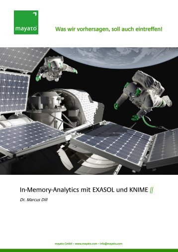 In-Memory-Analytics mit EXASOL und KNIME //