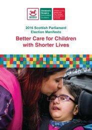 Better Care for Children with Shorter Lives