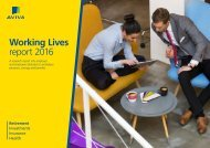 Working Lives report 2016