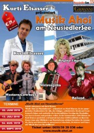 Musik Ahoi am Neusiedlersee - 2016