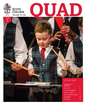 Quad Magazine, July 2015 Issue