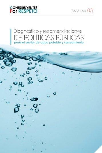 DE POLÍTICAS PÚBLICAS