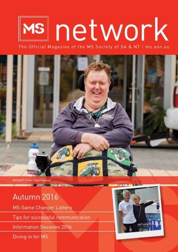 MSSANT Network Magazine Autumn 2016