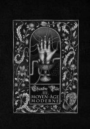 Chambre Pâle III — Moyen-Âge Moderne