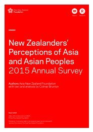 and Asian Peoples 2015 Annual Survey