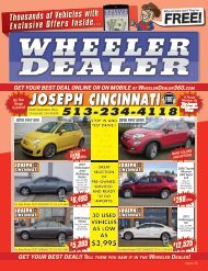 Wheeler Dealer Issue 13, 2016
