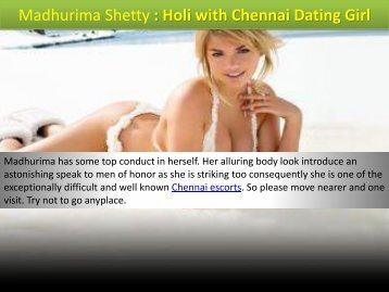 Best Dating by Madurima in Chennai