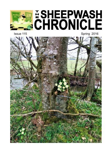 Sheepwash Chronicle Spring 2016