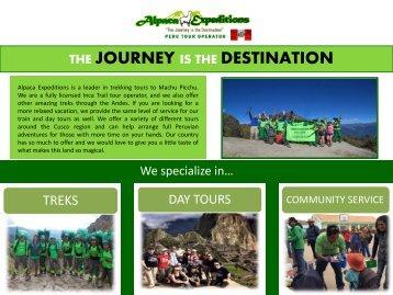 Alpaca Expeditions Peru Tour operator