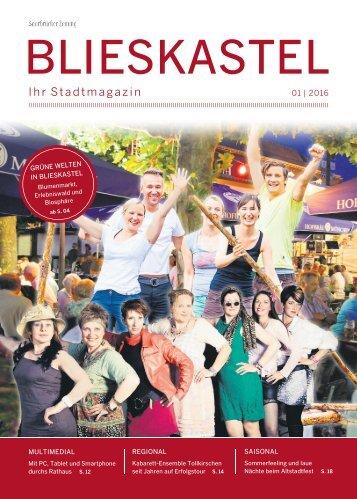 Stadtmagazin Blieskastel 01|2016