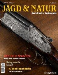Jagd & Natur Ausgabe April 2016 | Vorschau