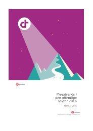 Megatrends i den offentlige sektor 2016