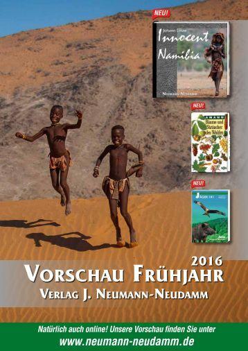 Verlagsvorschau Frühjahr 2016