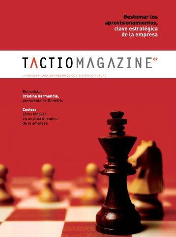 Gestionar los aprovisionamientos clave estratégica de la empresa
