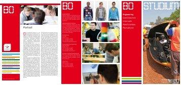 Studieninfos Bereich Engineering - Hochschule Bochum