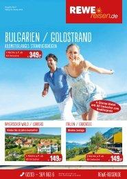 REWE Reisen Topangebote April 2016