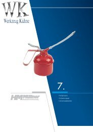 Kapitel 7 - Schmieren, Abzieher, Druckluft, Heben, Transport