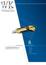 Kapitel 8-1 - Messer, Scheren, Pinsel, Rohrreinigung